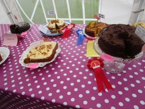 Some of the winning cakes